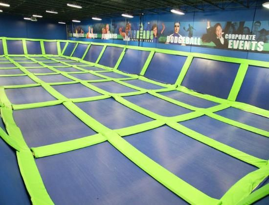 Gigantic Indoor Trampoline I Wish I Could Have One In M House Or - Gigantic underground trampoline inside cave looks amazing