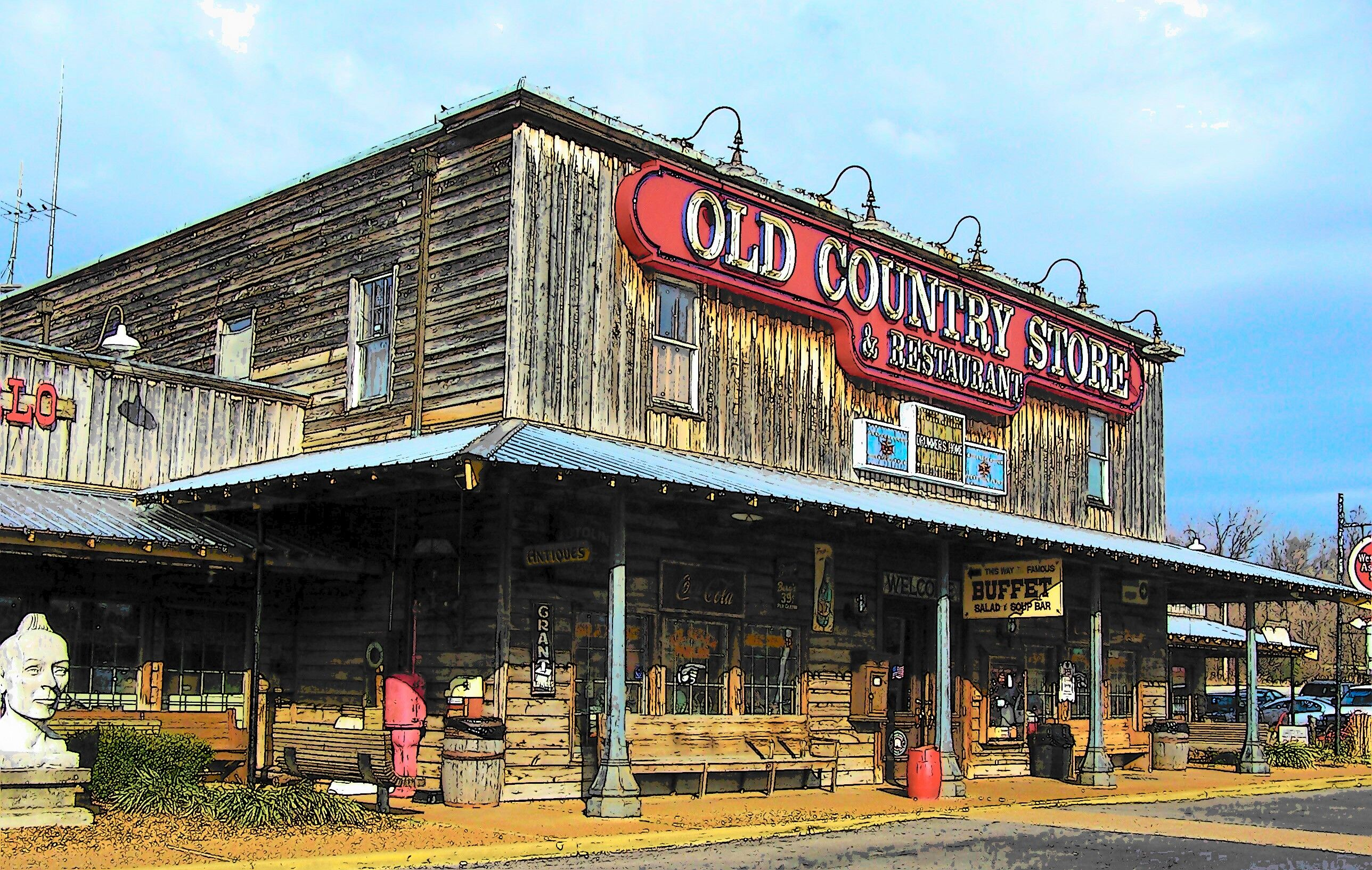 Events in the village old country store celebrates an