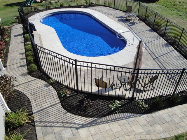 Inground Pools Pool Shapes Pool Styles Northeastern Pool And Spa Rochester Ny Backyard