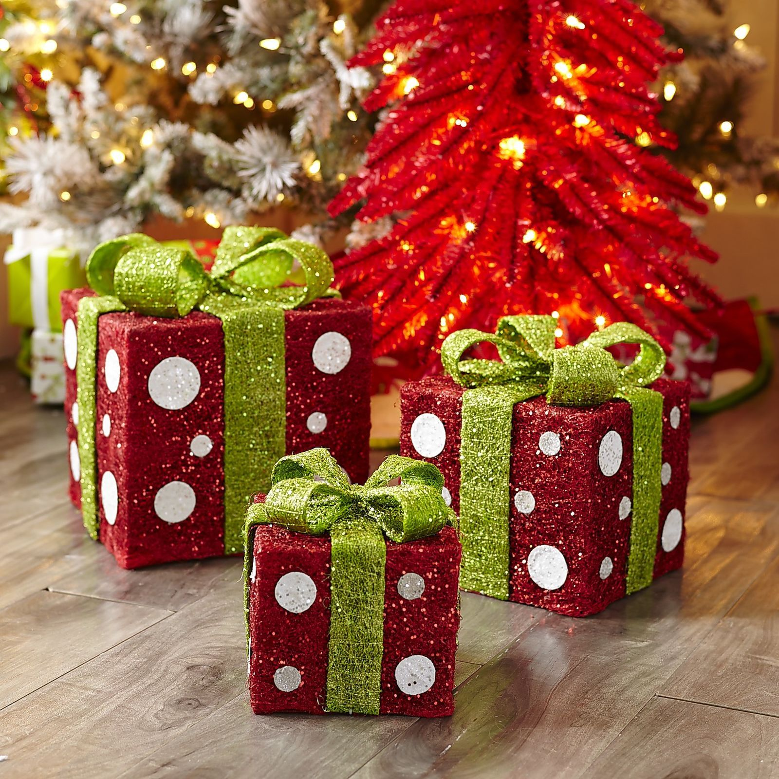 Welcome to immediate holiday mood enhancement—three nested gift ...