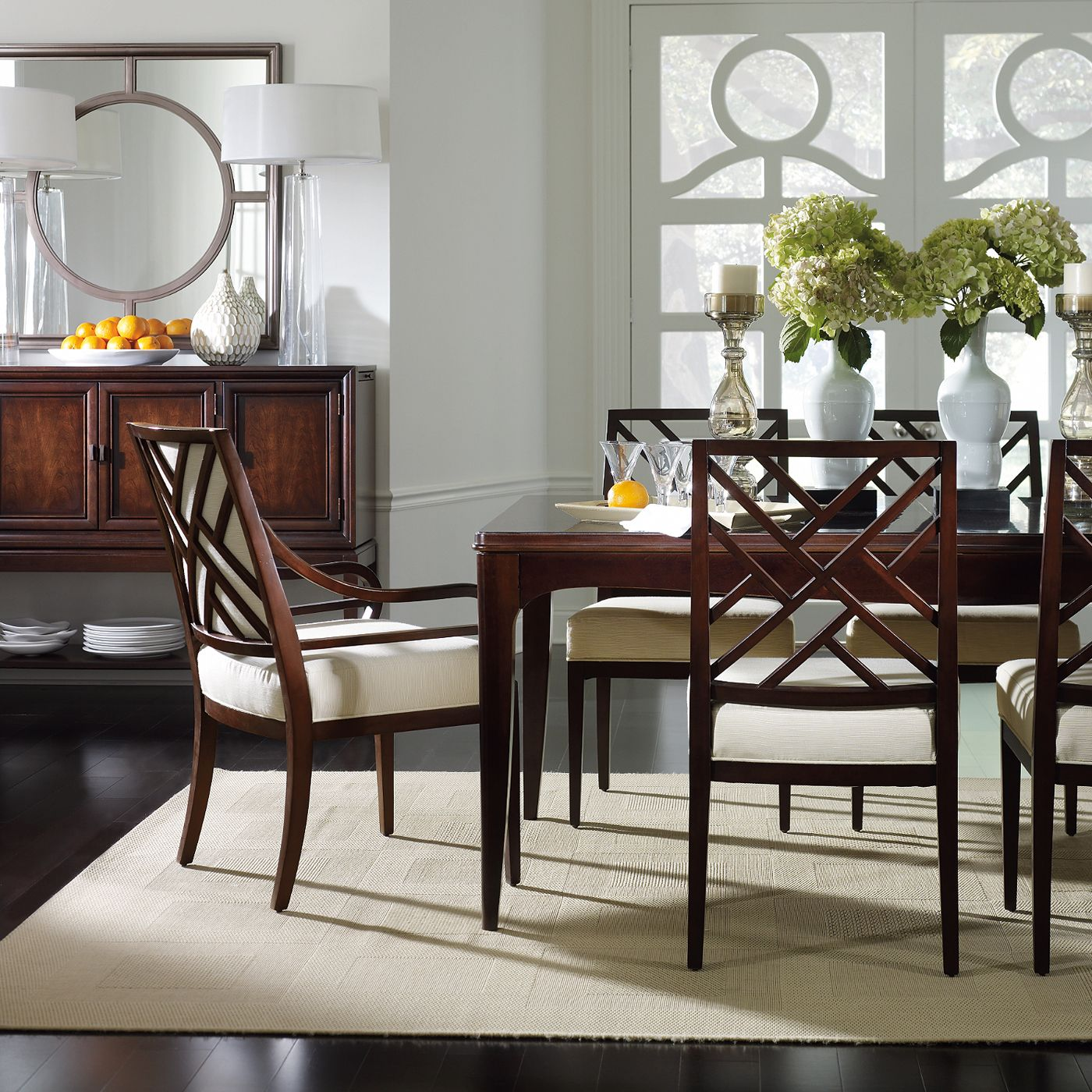 Stanley Furniture Continuum Parsons Leg Dining Set Atg Stores