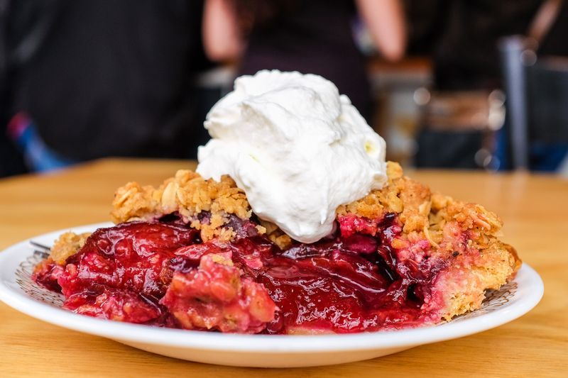 The 12 Most Stunning Desserts Bill Addison Ate This Year Pie Crumble Fun Desserts Pie Co