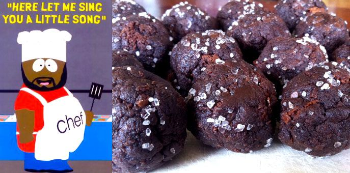 The Geeky Chef: Chocolate Salty Balls