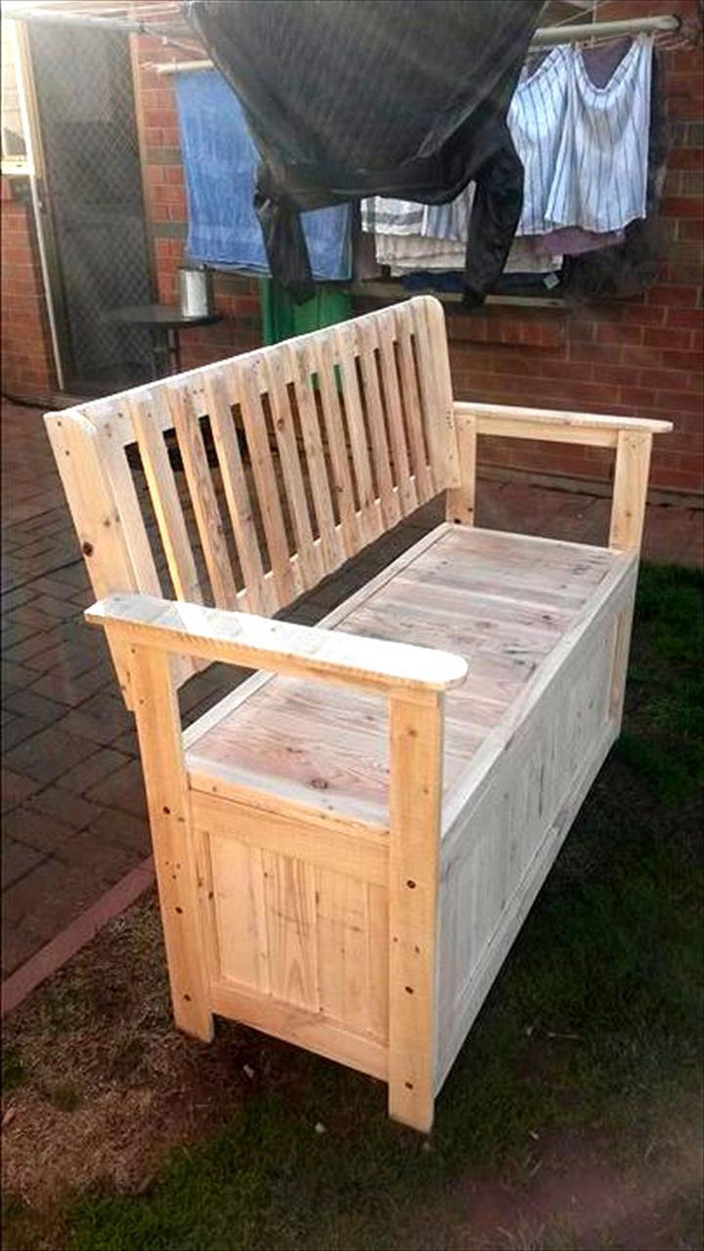 DIY Cheap Storage Made From Pallets (31) (With images ...