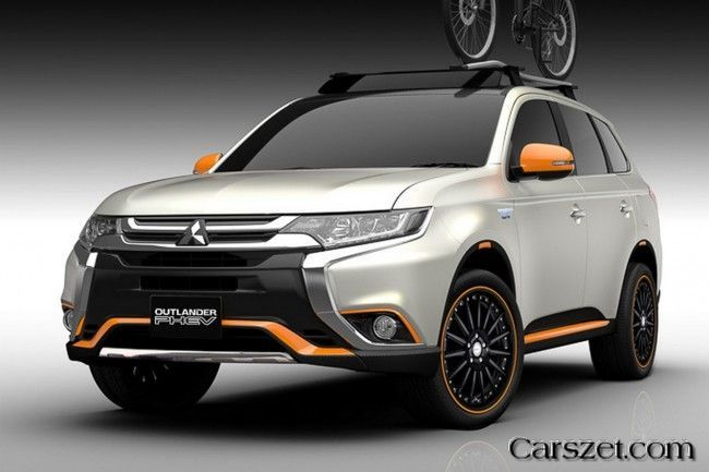 2018 2019 Mitsubishi Prepares Two Show Car Of The Outlander Phev Outlander Phev Mitsubishi Cars Mitsubishi Outlander