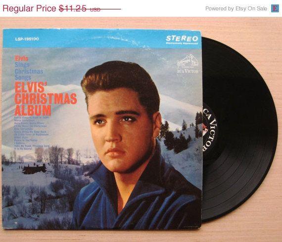 Elvis Christmas Album Vinyl.Sale Elvis Presley Elvis Christmas Album Vinyl Record Lp