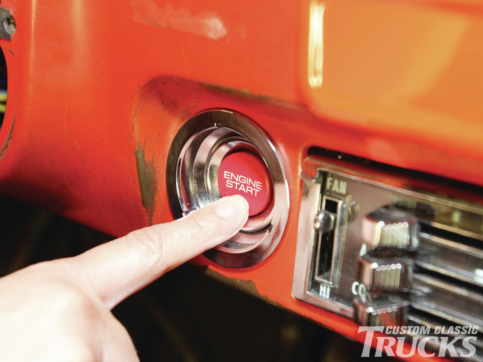 One of the more recent developments for the aftermarket is the keyless ignition flaming river