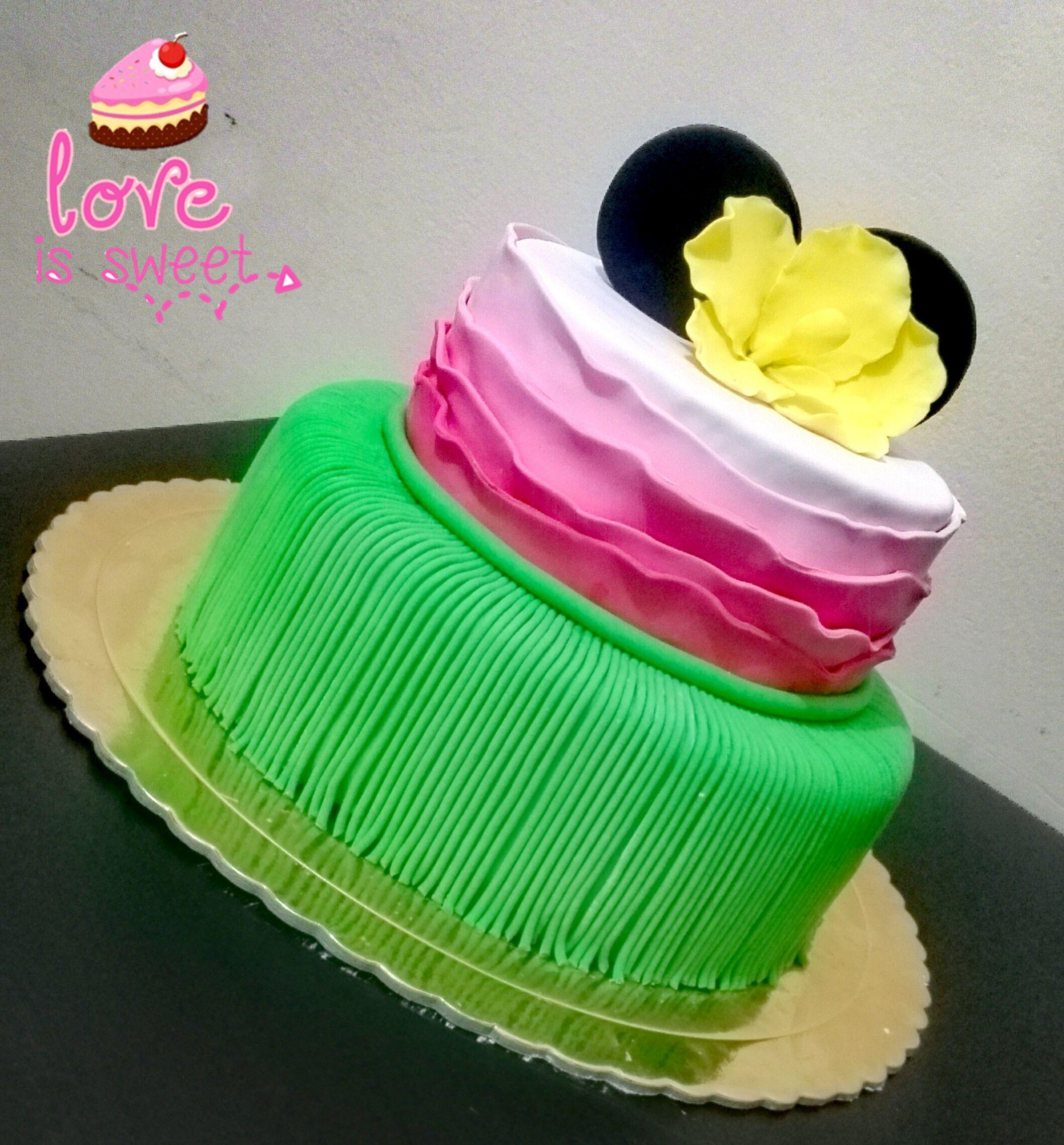 Torta minnie hawaiiana