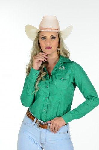 3af004c195549 A Marca Original do Cowboy Feminino