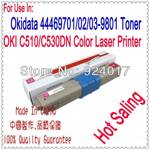 Refill Toner For Oki C510dn C530dn C531dn Printer Laser,For Oki C510 C530 C531 Toner Cartridge,For Okidata 510 530 531 Toner