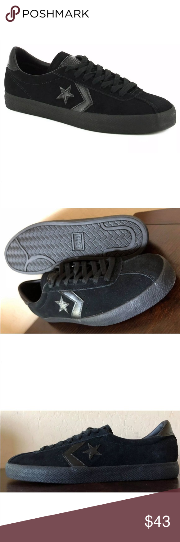 Skate New Breakpoint Shoes Converse Suede Cons Authentic Men's pLzVqMGjSU