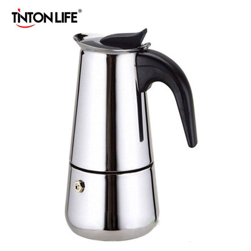 Espresso Maker 2//4//6//9 Cups Italian Stove Top Coffee Percolator Best Moka Pot UK