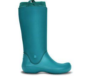 całkowicie stylowy wylot tanie jak barszcz Details about Crocs 12424 RainFloe Boot Juniper/Juniper ...