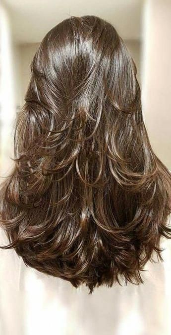 Pin On Layers For Long Hair