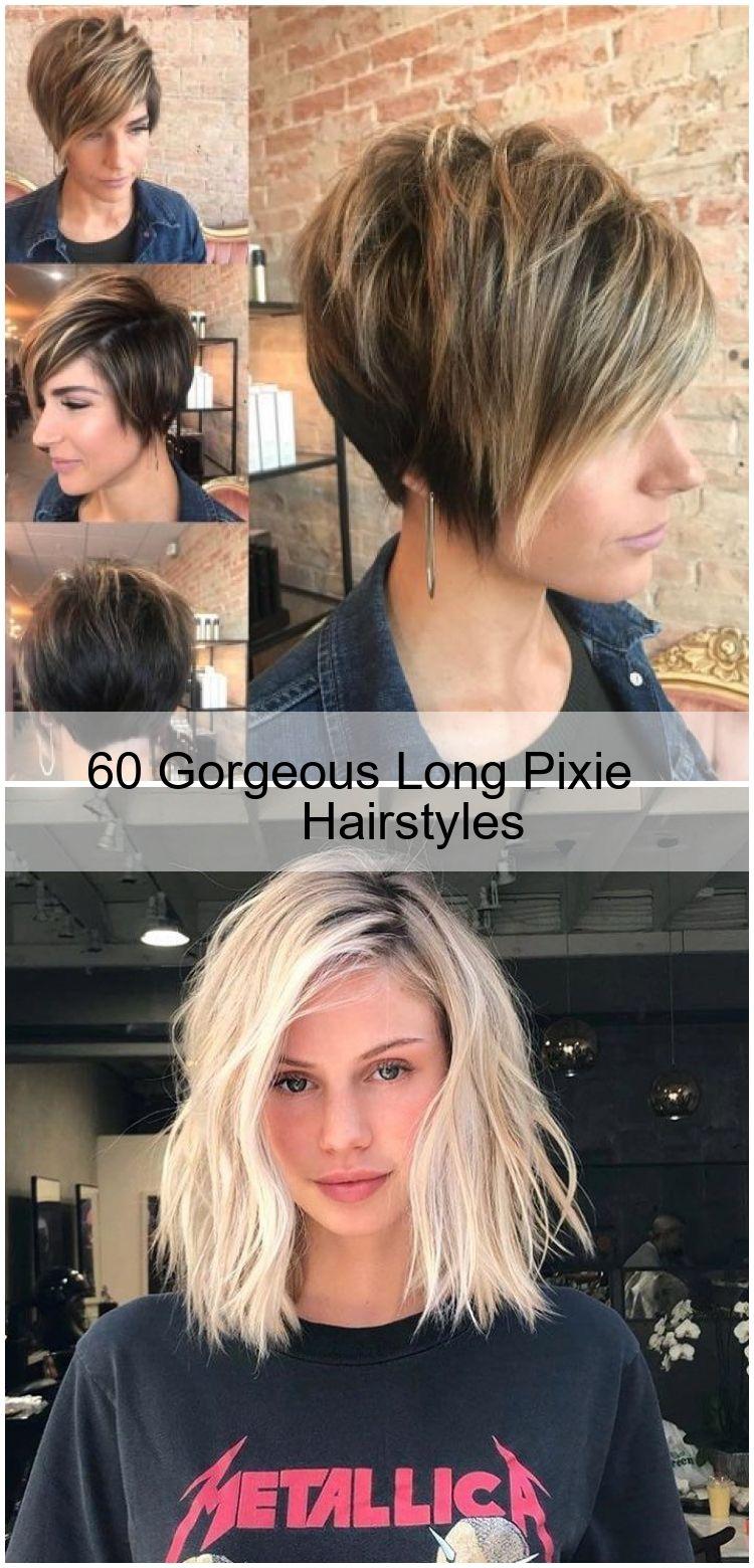 60 Gorgeous Long Pixie Hairstyles Coupe De Cheveux Lob Coupe De Cheveux Cheveux Lob