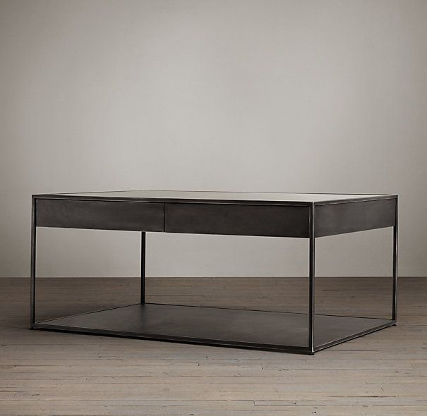 gramercy coffee tables   coffee tables   restoration hardware