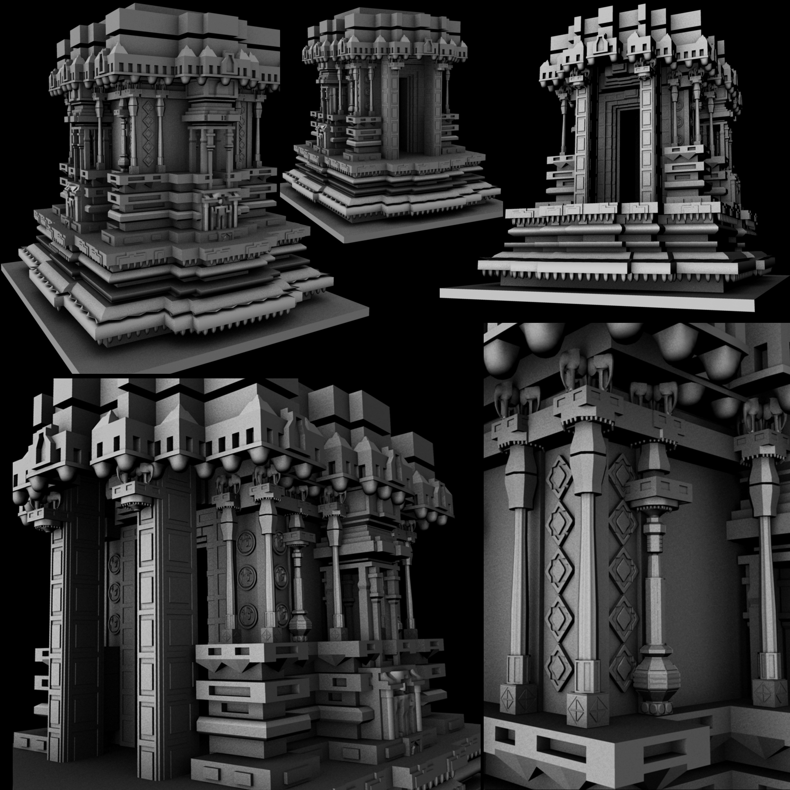 aztec architecture Aztec art, sculpture and architecture by: greg almazan, jenny price and magen shaw.