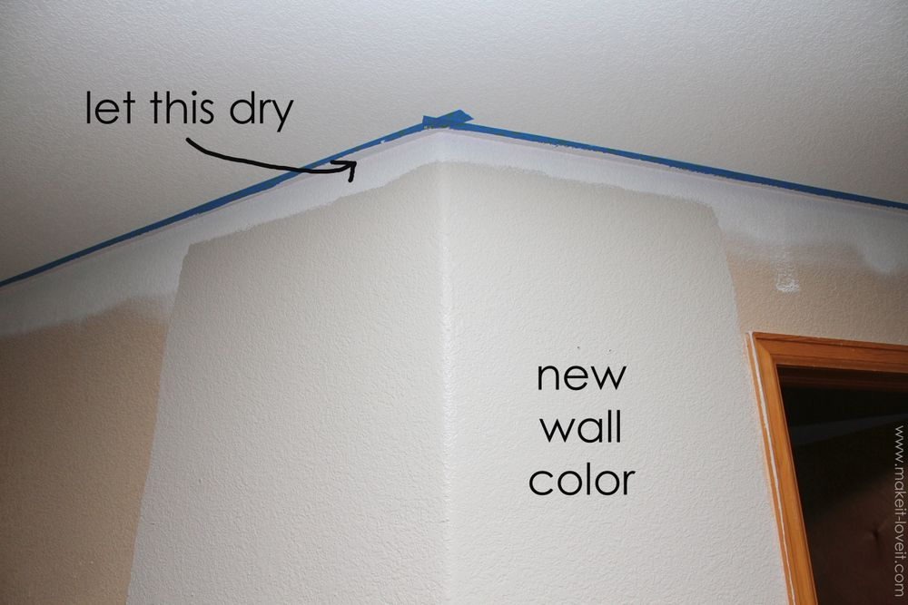 Home Improvement Painting a Straight Line on Textured Walls a Pro