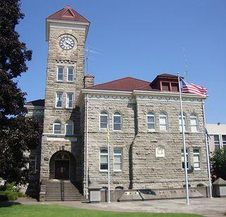 Polk County Courthouse Dallas Oregon Oregon State Of Oregon Polk County