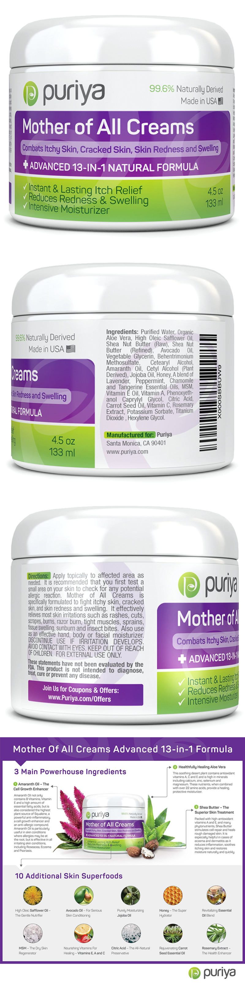 Other Skin Care Puriya Cream For Eczema Psoriasis Rashes