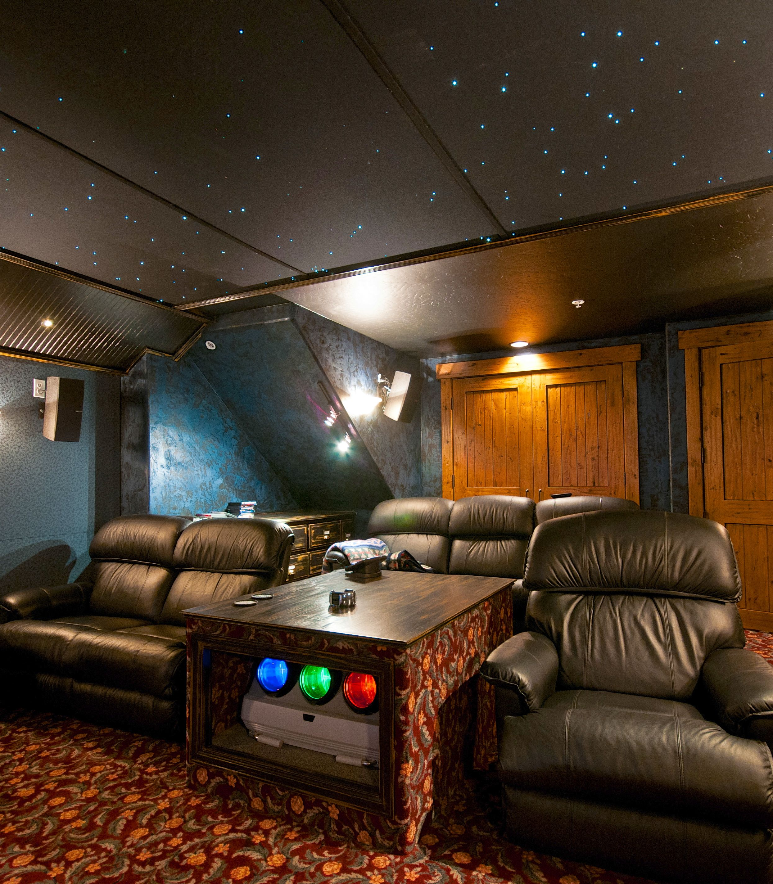 Space-themed Home Theater (Longmont, Colorado