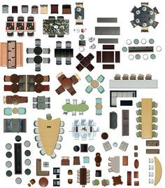 Furniture Plan View Google Search Photoshop Cutout Pinterest