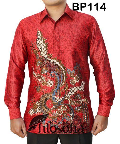 Harga Baju Batik Pria