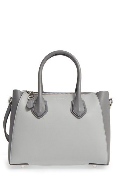 57845628faca5 Michael Kors  Small Helena  Calfskin Leather Satchel available at  Nordstrom