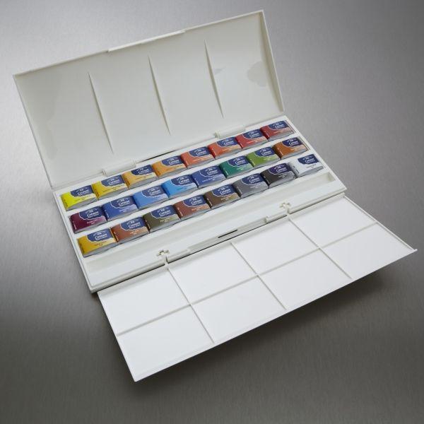 Winsor Newton Cotman Watercolour Studio Set Of 24 Full Pan