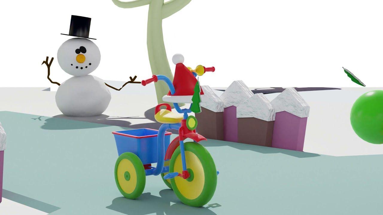 Il Calendario Di Natale Trailer.Il Trailer Di Natale Di Nino Il Triciclo Auguri Di Buon