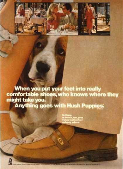 Vintage Clothes Fashion Ads Of The 1980s Vintage Outfits Hush Puppies Hush Hush