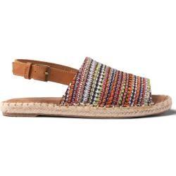 Photo of Toms Schuhe Rote Gewebte Clara Espadrilles Für Damen – Größe 42 TomsToms