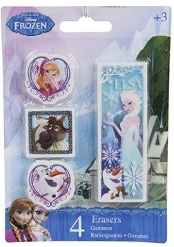 4 pack Frozen erasers