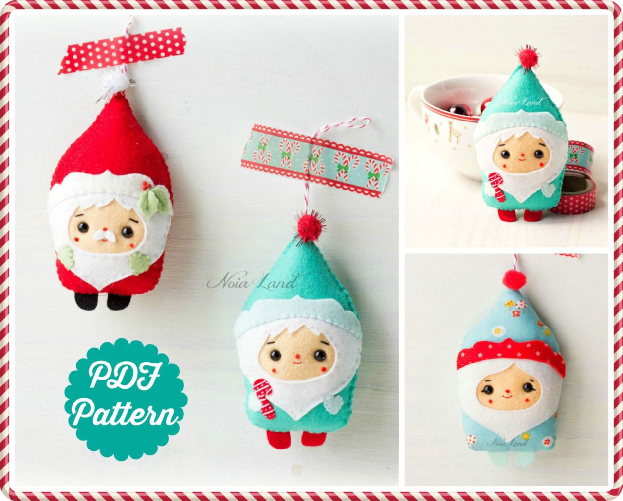 Christmas sewing patterns by Noialand on Etsy • So... | | Ho Ho Ho ...