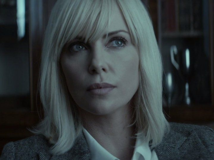 Charlize Theron plays a lethal secret agent in the ultra-violent 'Atomic  Blonde'