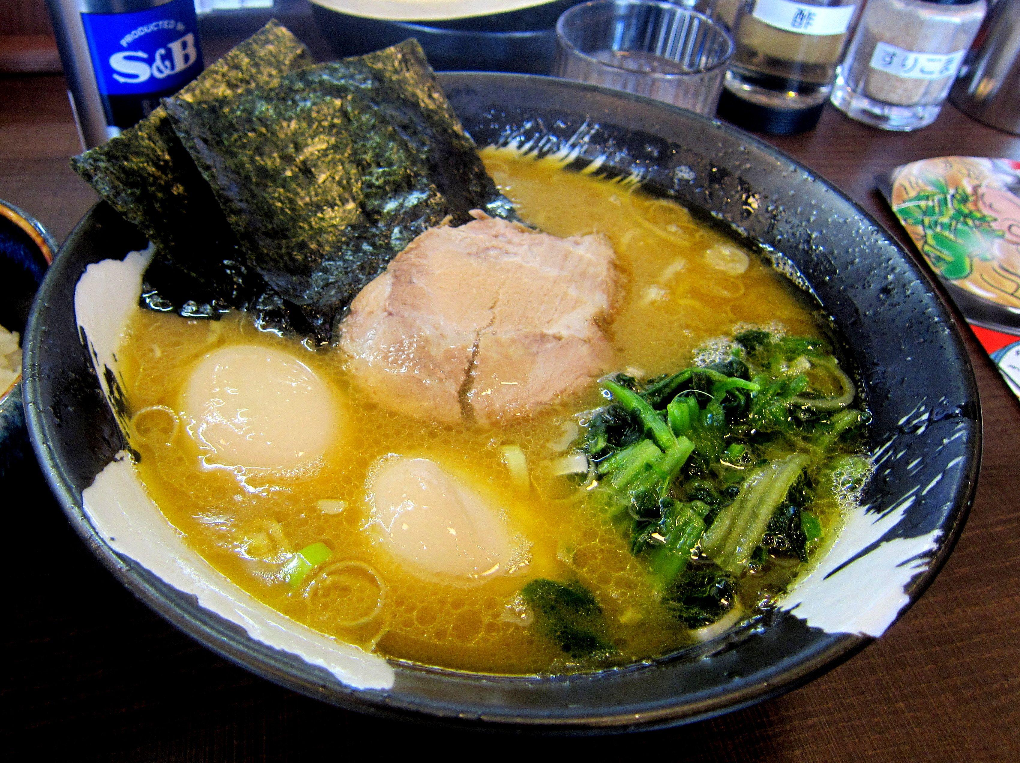 #Ramen #Tonkotsu_thick_broth #Soy_sauce_flavor #Rich_taste ...