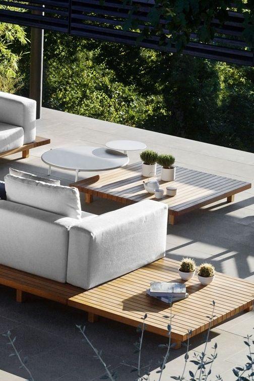 Asombroso Espacios De Vida Al Aire Libre De Los Muebles Modelo ...