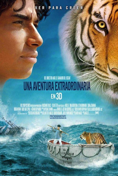 Pelicula Tigre Naufrago Buscar Con Google La Vida De Pi Carteleras De Cine Peliculas De Culto