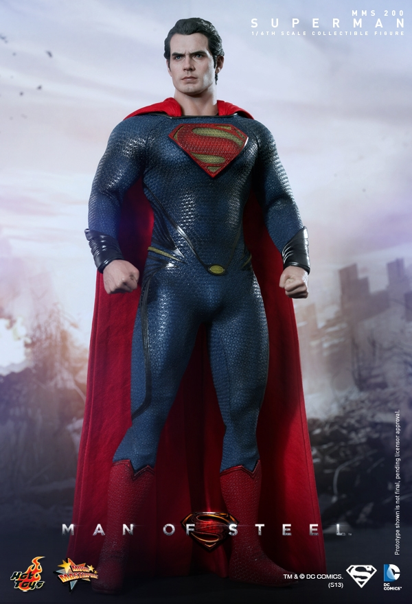 """338.00$  Watch more here - http://ai0hj.worlditems.win/all/product.php?id=32357973207 - """"HotToys1/6th scale doll model 12"""""""" Action figure doll,Superman Man of Steel.Collectible Figure model toy"""""""