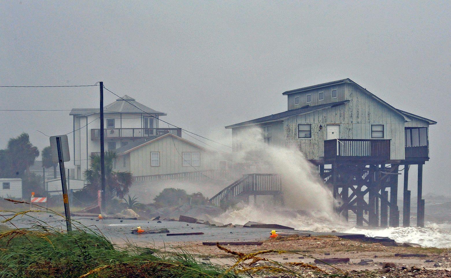 Hurricane Michael Hits Florida Atlantic Hurricane Florida Mexico Beach