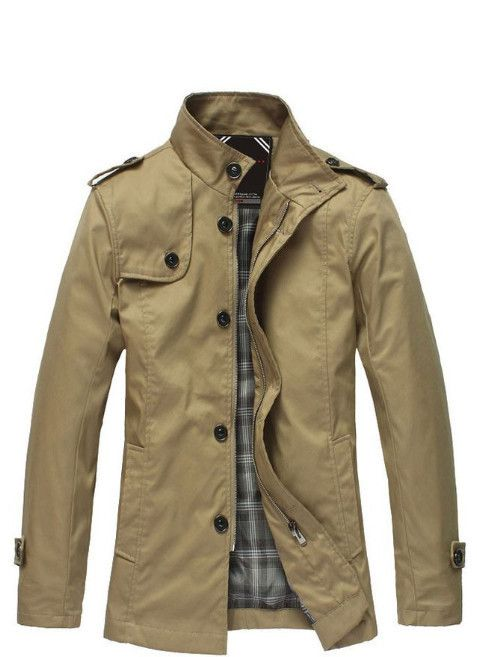 This is a fantastic looking garment. If you have been looking for a well-designed and well-made casual trench for years, you have just found one! $59.99 unique-outfit.com