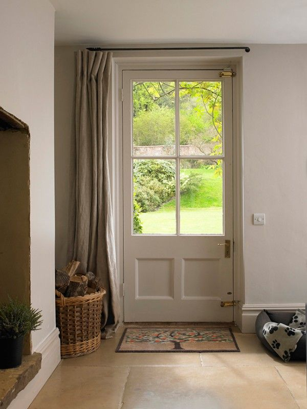 4 Uses For Drapes Other Than Windows Front Door Curtains