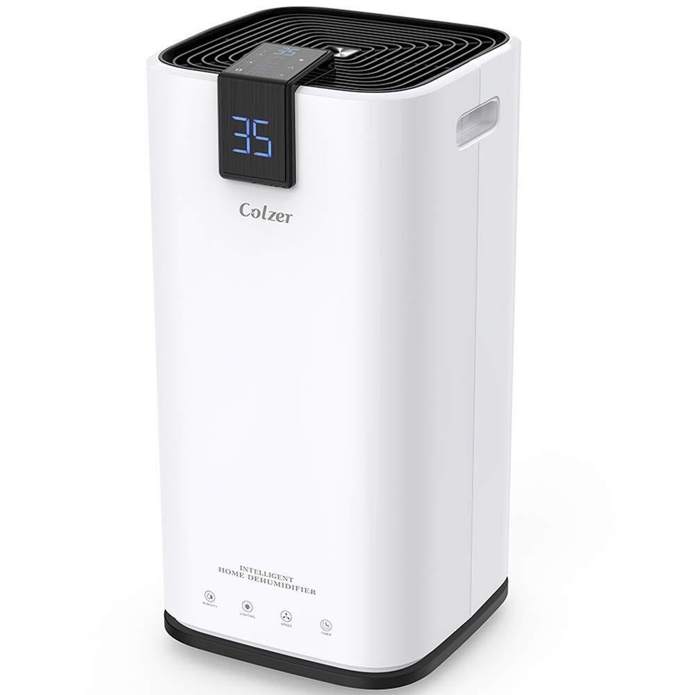 Colzer 30 Pints Portable Dehumidifier Large Capacity Compact