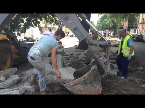 """Robu demolează terase: """"Vrem să vadă toată lumea că nu ne jucăm"""" I GALERIE FOTO - VIDEO"""