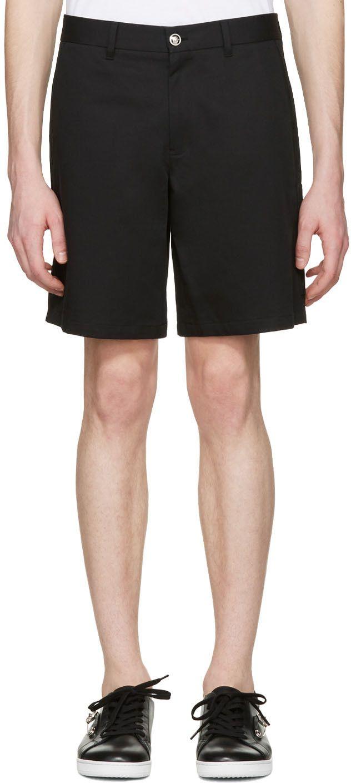 2b13cdcdd817 VERSACE Black Medusa Bermuda Shorts.  versace  cloth  shorts ...