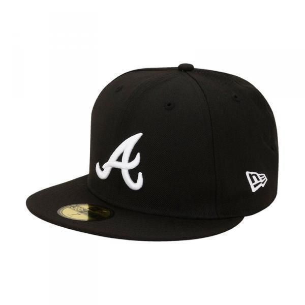 New Era MLB Basic Fullcap Atlanta Braves Black/White