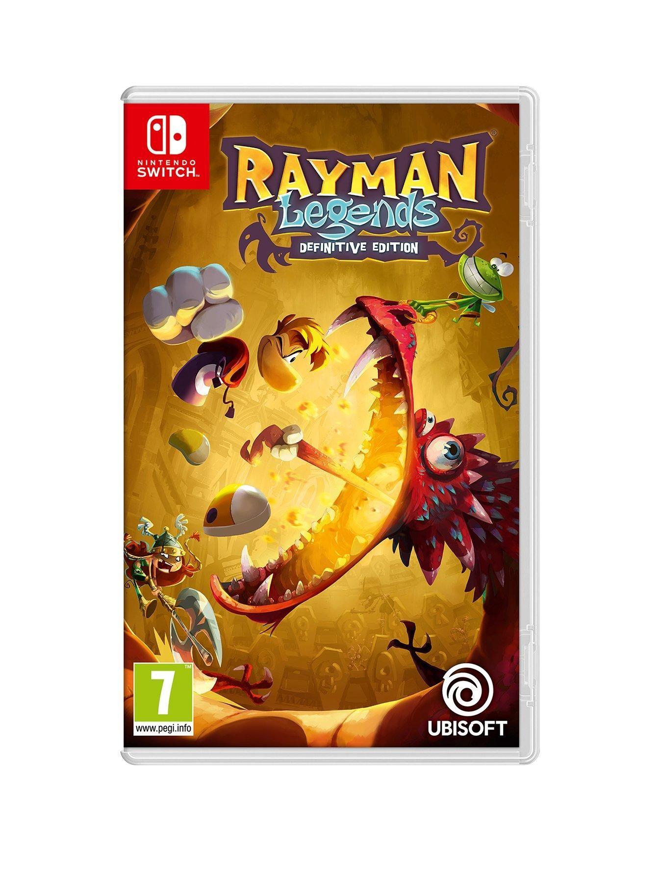 Rayman Legends Definitive Edition Rayman legends