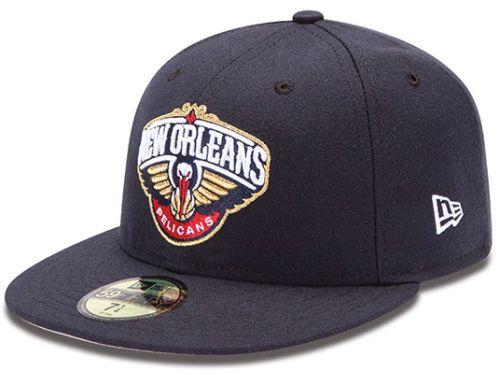 new product 5f544 432e5 new orleans pelicans caps   New Orleans Pelicans New Era NBA Release Logo 59FIFTY  Cap Hats