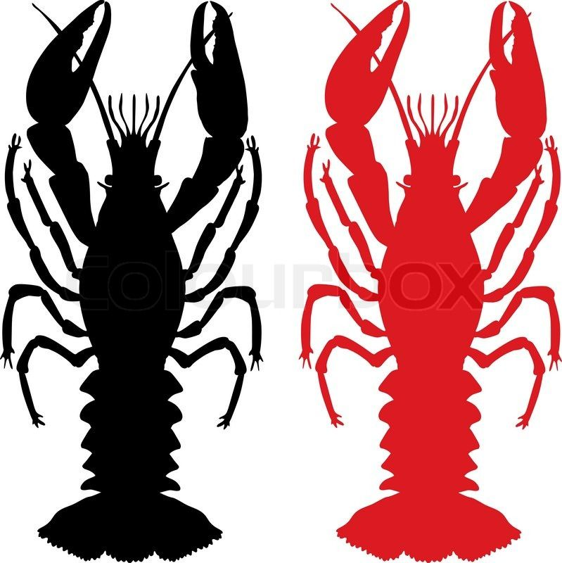 free download crawfish silhouette clipart for your creation mardi rh pinterest com crawfish clip art pictures crawfish clipart vector free download