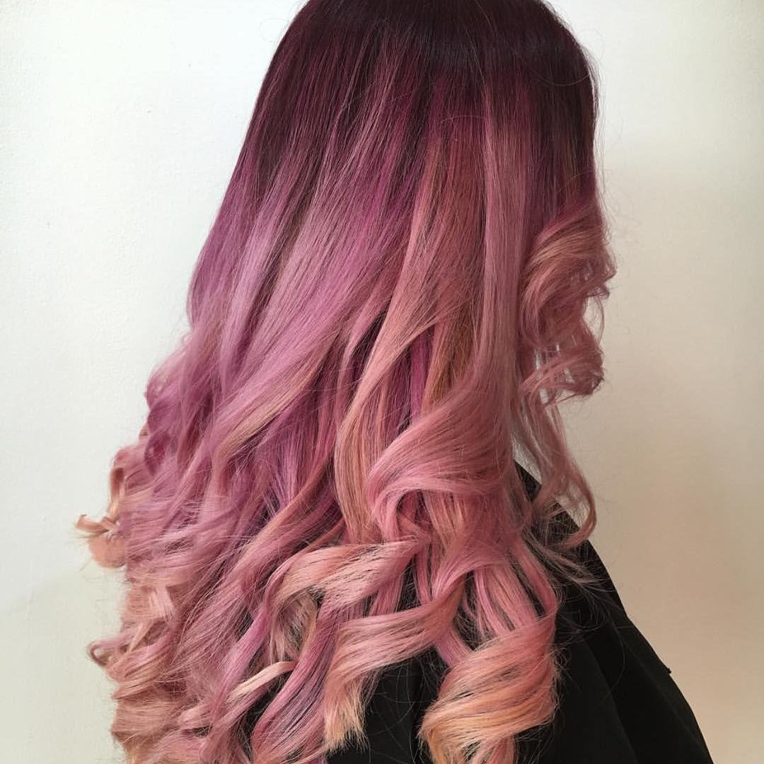 Розовые волосы (50 фото) — Все оттенки зефирного цвета ...